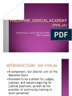 Delilah Magtolis - Philippine Judicial Academy