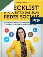 Checklist Gestao Redes Sociais