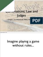 Ch 15 Judiciary
