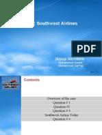 Organizational Design & Analysis Case11 Southwest Team2