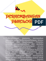 PERKEMBANGAN PSIKOLOGIS
