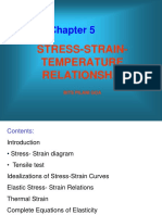 Stress-Strain and Temperature Relationship Chapter-5