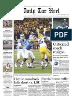 The Daily Tar Heel for September 7, 2010