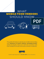 Regulations for Mobile Food Vendors