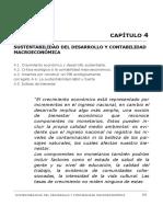 SUSTENTABILIDAD DEL DESARROLLO Y CONTABILIDAD MACROECONÓMICA CAPÍTULO 4