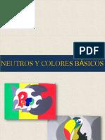 Neutros y Colores Basicos