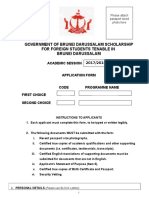 Application Form BDGS 2017-2018