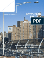 Columbia Political Review - Notes from the 15th Floor