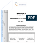 GEMSS-M-35 Rev 01 Painting & Coating Protection System