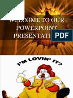 Fast Food Presentation( Awareness Class) (1)
