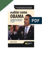 Leane Shel - Hablar Como Obama