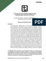 10 Anos Do Programa Brasil Sem Homofobia - Notas Críticas