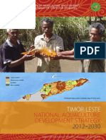 Aquaculture Development Strategy Plan for Timor-Leste (2012-2030)