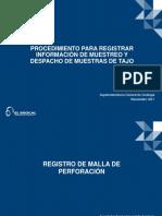 Procedimiento Para Registrar Informacion de Muestreo