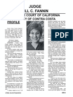 Judge Jill Fannin Profile