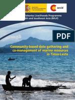 Needham 2013 Community Based Data Gathering and Co-management of Marine Resources