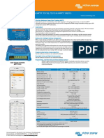 Datasheet Blue Solar Charge Controller MPPT 75 10, 75 15 & MPPT 100 15 En