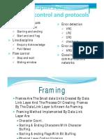 Cha-2- DL Control and Protocols