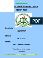 PDF Complete Mdcat 2017