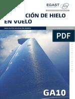 Ga10 Formacion de Hielo en Vuelo