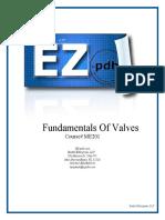 ME201 Fundamentals of Valves