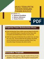 Komunikasi Teraupetik Pada Pasien Dengan Kebutuhan Khusus(1)
