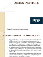 Best Web Development Courses- Classes- Institutes in Pune | Pune Training Institute