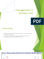 Dengue Management in Primary Care Edited Latest [Autosaved]