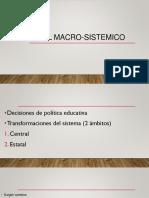 Nivel Macro Sistemico
