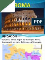 CIVILIZACIÓN ROMANA diapositivas