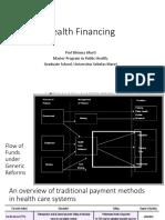 Health Financing_Prof Bhisma Murti