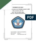 RPP SD TEMA 4.2