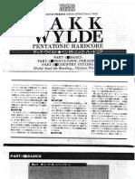 [GUITAR TABS] - Zakk Wylde - Pentatonic Hardcore.pdf