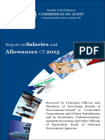 CY2015 Report on Salaries and Allowances