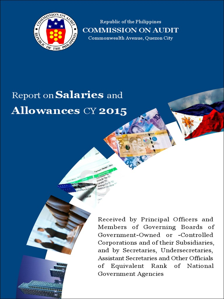 CY2015 Report on Salaries and Allowances | Auditor's Report