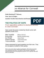 Progressive Alliance Meetup