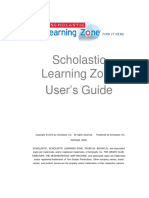 Scholastic Learning Zone Quick Start Guide 20150423