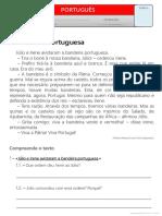 Texto - A Bandeira Portuguesa