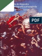La leyenda de Alejandro. Mito, historiografía y propaganda - Gómez Espelosín, Francisco Javier.pdf