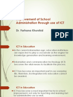 Use of ICT in School Administartion