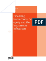 Pwc Guide Financing Transactions Debt Equity