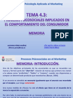 Presentación Del Tema 4.3.- Memoria y Marketing (1)