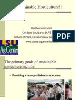 Sustainable Hort 1