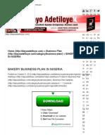 BAKERY BUSINESS PLAN IN NIGERIA.pdf