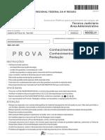 PROVA FCC 2014 TRF 4 REGIAO TECNICO JUDICIARIO AREA ADMINISTRATIVA