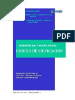 CODIGO EDIFICACION 2007 Neuquen Capital