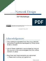 01 Isp Network Design