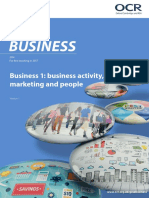 371977 Business 1 Business Activity Marketing and People Candidate Style Answers