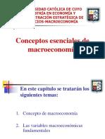 1. Introducción a La Macroeconomía