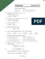 C3 Rational Expressions B - Questions